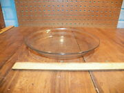 Vintage Fire King Glass Blue Sapphire Philbe 9 Pie Plate Pan