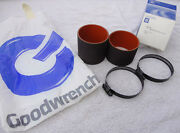Nos 86-87 Buick Gnx Gn 89 Trans Am 20th Gta Indy Turbo Hose Pair + Clamps Gm