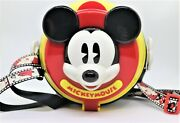 Tokyo Disney Mickey Mouse Popcorn Bucket Old Style Shipping From Japan F/s