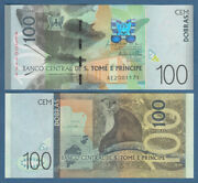 St. Thomas And 100 Dobras 2016 Unc P.74