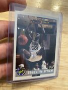 Shaquille O'neal Rookie Card Shaq 1992 Classic Draft Pick Lsu Collector Invest