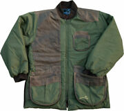 Wild Hare Cold Weather Coat Green And Brown