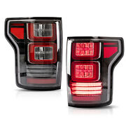 Customized Clear Tail Lights W/ Red Turn Signal For 15-20 Ford F-150