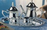 Towle Silversmithandrsquos Childrenandrsquos 5 Piece Silverplate Coffee And Tea
