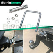 2.5 Heavy Duty Hitch Tightener Anti-rattle Hitch Coupling Clamp