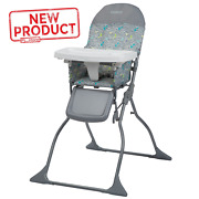 Baby High Chair Seat Folding Adjustable Tray Toddler Child Portable Eating New