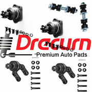 6pc Sway Bar Links Upper Lower Ball Joint Kit For Nissan D21 Pickup 4wd