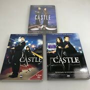 Castle The Complete First, Second And Third Seasons Dvd, Season 1and3 Abc