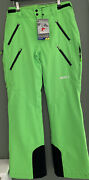 Nevica Brixen Mens Ski Pants Waterproof Breathable Green Size Small Iw10