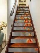 3d Persimmon Tree Zhu866 Stair Risers Decoration Photo Mural Vinyl Wallpaper Amy