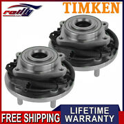 Timken Pair 2 Rear Wheel Hub And Bearing For Town And Country Grand Caravan Routan