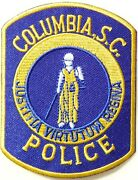 District Of Columbia S.c. Police Patch