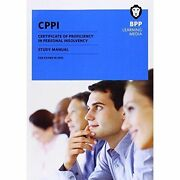 Cppi Certification Of Proficiency In Personal Insolvency Study Manual By Bpp L