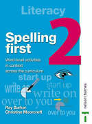 Spelling First 2 By Barker Ray Moorcroft Christine