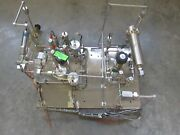 Air Products Inert Gas Panel System Model 801-4512560 Gas Cf4/n2 Used