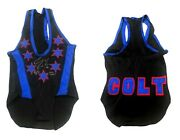 Wwe Aew Colt Cabana Hand Signed Autographed Ring Worn Singlet With Coa 3 Rare