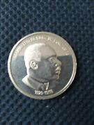 Rare Dr. Martin Luther King .999 Silver Medal 1 Troy Oz Trade Unit Bullion