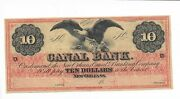 10 Bald Eagle Louisiana Canal Bank New Orleans 18xx Ch Cu Plate D Red Tint G26