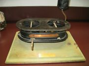 Antique Patent Model Hydrocarbon Stove 1871 With Tags