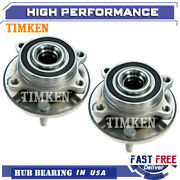 Timken Front Wheel Hub And Bearing Left And Right Pair For Ford Taurus Flex Mks Mkt
