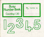 Busy Number Book Counting 1-20 By Greenaway Beryl