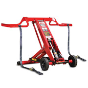 Lawn Mower Lift Front Load Tractor Repair Adjustable Maintenance Mojack Hdl 500