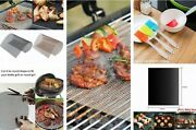 Bbq Grill Mesh Non-stick Mat Reusable Sheet Meat Resistant Barbecue Bake Meat