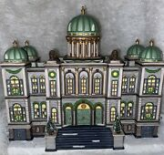 Dept 56 Heritage Village/christmas In The City -the Capitol 1997, W/box, Vintage