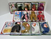 New Sealed Boxes Complete Mcdonaldand039s International Ii Ty Beanie Bear Collection