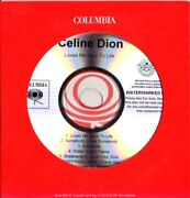 Celine Dion Very Rare Promo Cd Album Loved Me Back To Life [card Sleeve]