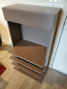 Luxury Entry Open Storage Shoe Rack Organizer Shelves And Drawer For Mask