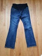 Old Navy Maternity Jeans Boot-cut Sz 2 Excellent Condition