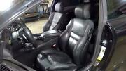 06-10 Bmw M6 Black Leather Sport Seat Set Front/rear Power Heated Memory