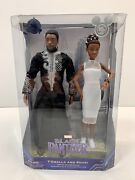 T'challa And Shuri 2-pack Action Doll Set D23 Expo 2019 Limited Release Rare Htf