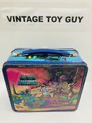 Vintage 1984 He-man Masters Of The Universe Lunchbox With Thermos Lunch Box