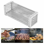 6'' Smoker Tube Pipe Bbq Wood Pellet Smoke Box Charcoal Gas Grill Grilling Meat