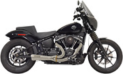 Bassani Ripper Road Rage 2-1 Stainless Motorcycle Exhaust 18-20 Harley Softail