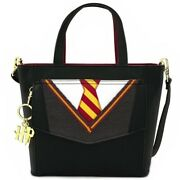 Loungefly Harry Potter Cosplay Suit And Tie Crossbody Bag - New