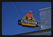 Photo Of Red Goose Shoe Sign, Port Gibson, Mississippi 1986 E7