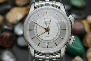 Oris Automatic Artelier Alarm 01-908-7607-4051 Stainless Steel Menand039s Watch