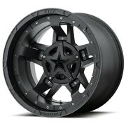 20 Inch Black Wheel Rims Lifted Ford F150 Expedition Truck 6x135 Xd Series Xd827