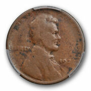 1922 D 1c Weak D Lincoln Wheat Cent Pcgs G 6 Good To Very Good No D Variety