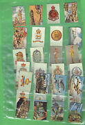 D327. 1941 South African Military Theme Cigarette Cards - Part Set 37/100