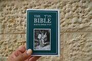 Holy Bible Jewish Tanakh Hebrew English And Pictures Old Testament Holy Scripture