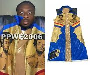 Wwe Big E Ring Worn Hand Signed Autographed New Day Jacket With Proof And Coa 2