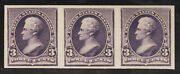 United States Scott No 221p5, Nh, Xf, Proof On Gummed Stamp Paper
