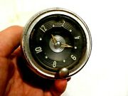 Vintage Automotive Electric Dash Clock-new Haven Clock And Watch Co