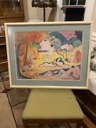 Henri Mattise Lithograph Joy Of Life Signed In Plate Large Orgy Rare Solstice