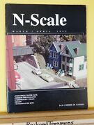 N Scale Magazine 1993 March April Industrial Water Tanks Scratch Roads Leds