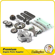 For 03-08 Dodge Durang Mitsubishi Jeep 4.7l Timing Chain Kit Oil Pump Ngc Gear